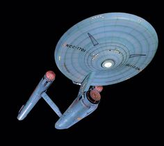 """September 8, 1966: """"Star Trek"""" (The Original Series) debuts in the U.S. on NBC-TV. This is the original starship Enterprise model used to film the TV show."""