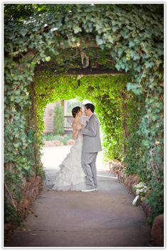Winter Wedding at L'Auberge  Photo by Drew & Megan Photography