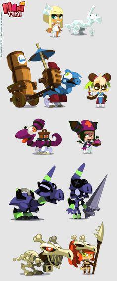 Maximini 3: Chara and drago design by sephyka.deviantart.com on @deviantART