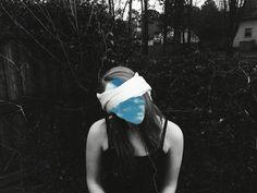 #vsco #vscocam #blackandwhite #sky #photography #portrait #blindfold