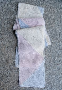 Just Triangles Entrelac Scarf - the purl bee