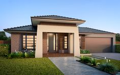 With high quality living area options available for both left or right side of your home. Enjoy life to the fullest living in the best Bohemian home! Patio Design, House Design, Brick House Plans, Delta House, Outdoor Rooms, Outdoor Decor, First Home Buyer, Bohemian House, Facade House