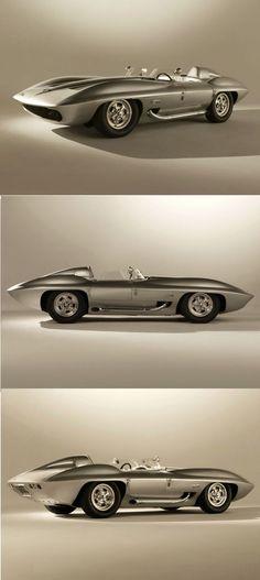 Chevrolet Corvette Stingray Racer Concept Car 1959: