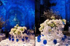 casamento azul royal e dourado - Pesquisa Google