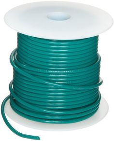 """UL1007 Commercial Copper Wire, Bright, Green, 12 AWG, 0.0808"""" Diameter, 100' Length (Pack of 1) by Small Parts. $52.38. UL1007 .015'' PVC insulation rated 300 volts temp range -40 to 80 C, green color"""