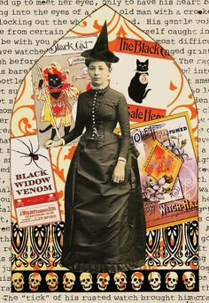 A Nostalgic Halloween: Kris' Gothic Arch Challenge - Witch
