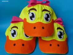 Kosucas : Gorras de pato.