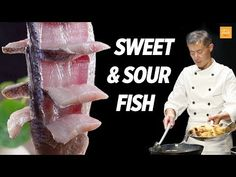 Sweet and Sour Fish by Masterchef Taste Authentic Chinese Food Fish Recipes video recipe Chinese Food Recipes, Wok Recipes, Asian Fish Recipes, Best Chinese Food, Authentic Chinese Recipes, Salmon Recipes, Easy Recipes, Recipies, Radish Cake Recipe