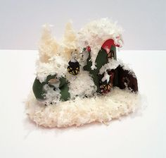 Weihnachtsdeko - Wichtel Schuh - ein Designerstück von kleineBastelelfe bei DaWanda
