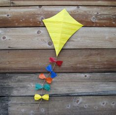 Metal art sculpture home wall decor - Kite - reclaimed metal made to order
