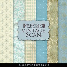 New Freebies Old Style Papers