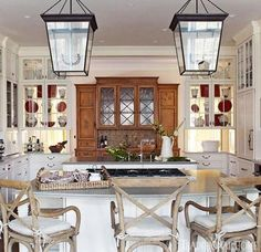Distinctive Kitchen Cabinets With Glassfront Doors  Traditional Adorable Designer Kitchen Doors Design Ideas