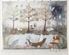 Enchanted Forest Mural by Rebecca Rebouche