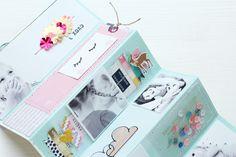"""Steffi Ried Minialbum SBW Inspirationsgalerie Crate Paper """"Cute Girl"""""""