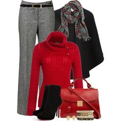Christmas Eve, created by brendariley-1 on Polyvore