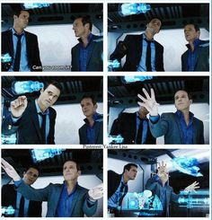 """HAAHA! I LOVED this scene! I'm thinking basically """"way to go Operatives!"""" :)"""