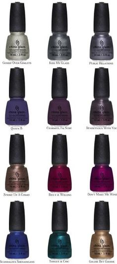 Fashion Polish: Fall Into the Beauty of Rich Color: China Glaze Autumn Nights by proteamundi