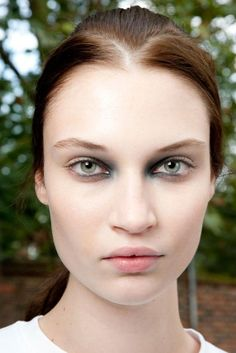 Sinister Smoky Eyes was the look at Giles