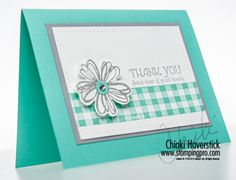 SU Flower Shop, Lots of Thanks, Gingham wheel   (Aug 22nd, 2013)