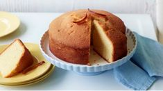A Really Delightful Lemon Madeira Cake With Candied Peel