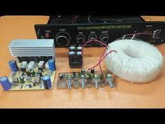How do you know That How many Volt and Amps need to your amplifier? Transistor Vs Voltage - YouTube