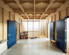 Gallery of Plywood House / SMS Arquitectos - 1 Best Interior, Home Interior, Interior Design, Plywood House, Modern Shed, Digital Fabrication, Plywood Sheets, Concrete Tiles, Spanish House