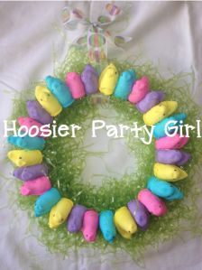 Easter Peep Wreath
