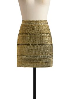 Gold is really the ultimate neutral! This could be the foundation for so many great outfits.