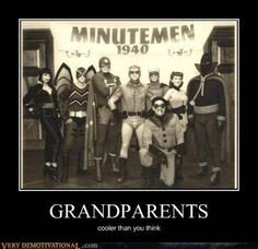 The Minutemen... the WWII-era precursor team to the Watchmen