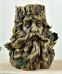 Another great find on #zulily! Gnome Tree Face Planter #zulilyfinds