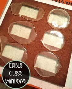 How to make edible glass windows for your gingerbread house or custom cake with just three ingredients