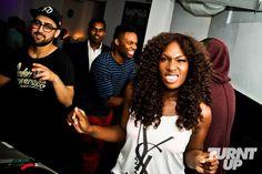 [party pics] DJ Lissa Monet & DJ Geoff Brown [@djgeoffbrown] @ Turnt Up Pop Up inside Media Bar - DJ Lissa Monet Official Blog