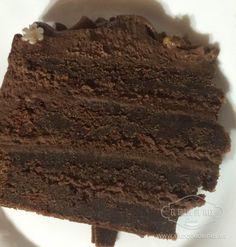Tarta Diablo (Devil´s food cake) - El Toque de Inés