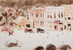 David Milne, (January was a Canadian painter, printmaker, and . Canadian Painters, Canadian Art, David Milne, Christmas Art, Accent Pieces, Great Artists, Amazing Art, Watercolor Art, Original Paintings