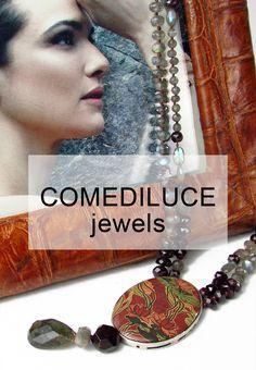 For Sale Online and in Our Stores. In vendita Online e nei Nostri Negozi. MONTORSI BOUTIQUE. Modena.  #comediluce #ceramicjewels #jewels #silver #fashionjewelry #semipreciousstones #agates #aquamarines #jade #gioielli #gioielliinceramica #argento #gioiellimoda #pietresemipreziose #agate #giade #acquamarine #occhiditigre #cristallidirocca #montorsimodena #boutiquemontorsi