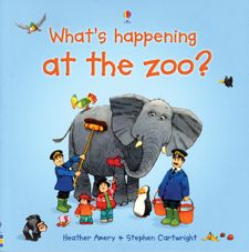 """the """"what's happening"""" series is great for helping kids learn to answer """"WH"""" questions."""