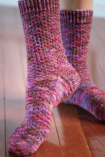 We love socks! This cute pattern looks like it would make a great pair of stylish yet simple socks. Just like Hermione! Get Sockalicious at www.nordicmart.com Ravelry: Hermione's Everyday Socks by Erica Lueder