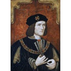 Richard III World History Great Britian Canvas Art - (18 x 24)