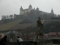 Even when it's foggy and gray, Würzburg is beautiful.