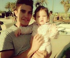 Aahh that's really cute. He is so wonderful with children ^_^ #MarcMarquez