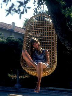 Jane Birkin photographies 1968 La Piscine