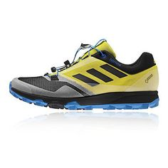 #Adidas terrex #trailmaker mens yellow black gore tex #waterproof running shoes,  View more on the LINK: http://www.zeppy.io/product/gb/2/291974419660/