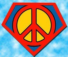 Super Peace ~ David Curry art