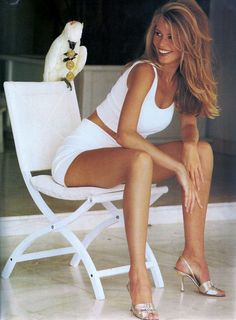 US Vogue January 1992 Claudia Schiffer by Marc Hispard and Carlyne Cerf de Dudzeele