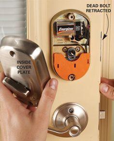 Upgrade Front Door Locks With Keyless Door Locks