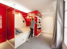 Roundup: 12 Utterly Awesome Hidden Beds » Curbly | DIY Design & Decor