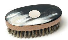 Braybrook & Britten. Gentleman's Horn & Silver Hair Brush.