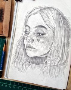 Magnificent sketch collection by the talented artist - 😍💯 Give your eyes a treat by looking all of them 👏 Swipe ⬅️ ↩️ Comment… Pencil Art Drawings, Art Drawings Sketches, Cute Drawings, Drawing Faces, Horse Drawings, Drawing Art, Drawing Tips, Animal Drawings, Drawing Ideas