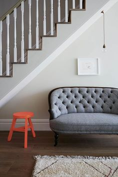 Discover hallway ideas on HOUSE - design, food and travel by House & Garden, including this grey hallway with a splash of colour. Decor, Hall Decor, House Design, Stylish Room, Interior Design Guide, Interior, Home Decor, Home Stairs Design, Furniture