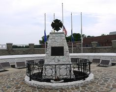 National Fallen Firefighters Monument-Emmittsburg,MD Visitor Badges, Firefighter Paramedic, Firefighter Pictures, Fire Fighters, Memorial Park, Urban Furniture, Firefighting, Coloring Book, Statue Of Liberty